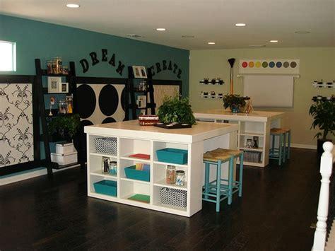 17 Amazing Craft Room Storage & Organising Ideas The