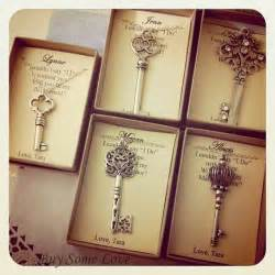 unique ways to ask bridesmaids skeleton key bridesmaids thank you gifts ask bridal