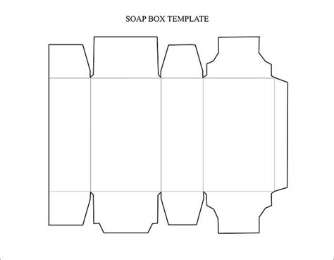 rectangle template box template free premium templates