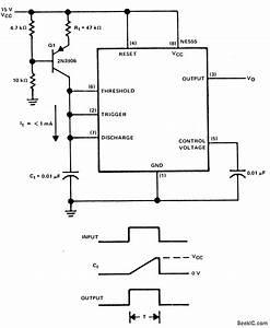 linear ramp generator signal processing circuit With timing signal generator circuit diagram tradeoficcom