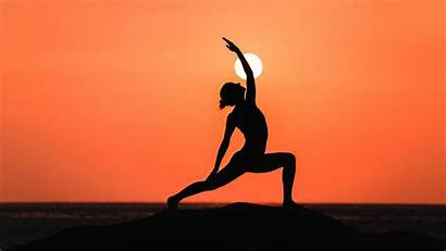 Yoga Silhouette Meditation Cothi Mind Wallpapers Wallhere