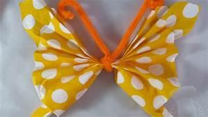 Pliage De Serviette Papillon : pliage de serviettes papillon youtube ~ Melissatoandfro.com Idées de Décoration