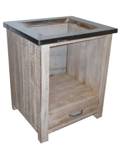 meuble cuisine plaque et four meuble four et plaque cuisson meubles cuisine pin massif pas cher la remise