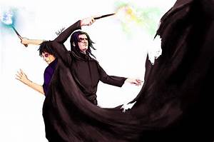 Over Snape's Death Body by Blackfont on DeviantArt