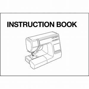 Instruction Manual  Janome S