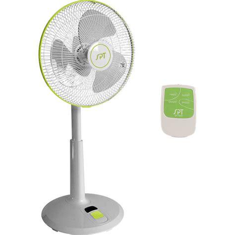 Pedestal Oscillating Floor Fan by Dc Motor Oscillating Standing Floor Fan W Remote
