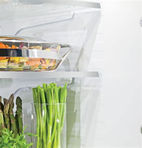 monogram zweesnss  cu ft freestanding counter depth french door refrigerator stainless steel