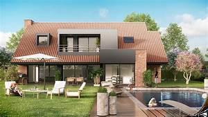 maisons contemporaines maisons levoye With les photos des maisons