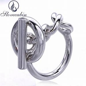 slovecabin vintage men jewelry authentic 925 sterling With locking wedding rings