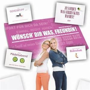 Kleines Geschenk Für Beste Freundin : gutscheinbuch f r beste freundin w nsch dir was tolles dankesch n ~ Frokenaadalensverden.com Haus und Dekorationen
