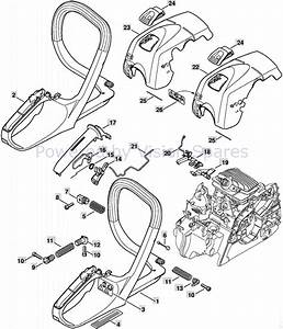 Stihl Ms 291 Parts Diagram