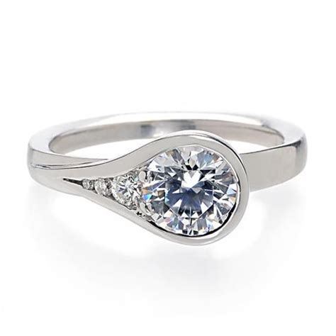 Style Modern Setting by 1000 Ideas About Modern Engagement Rings On