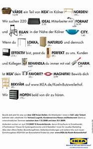 Ikea Artikelnummer Suchen : kreative stellenanzeigen es gibt sie wirklich mit ~ Watch28wear.com Haus und Dekorationen