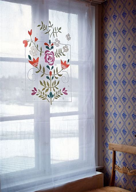 """oda"" Curtain In Cotton  Curtains  Gudrun SjÖdÉn"