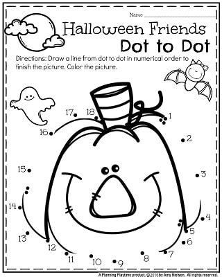 halloween freebie activities count