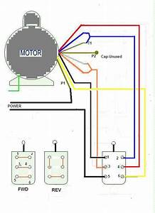 How Do I Wire Up A Dayton 6k418ba To A Forward And Reverse Switch