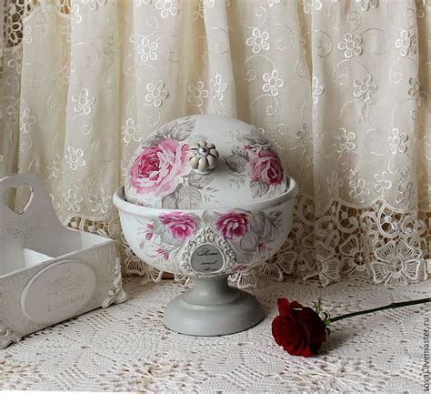 The Bread Bin Shabby Chic Cloche Pink Marshmallow Shop
