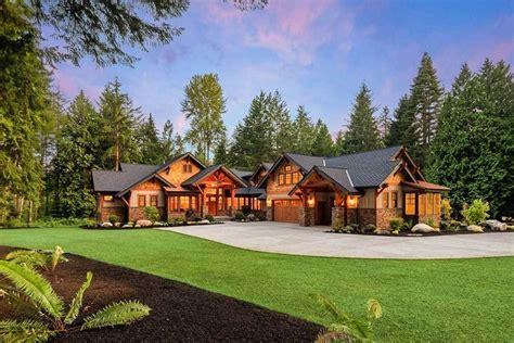plan jd high  mountain house plan  bunkroom mountain house plans craftsman house