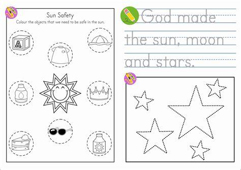 sunday school creation sun moon and in my world