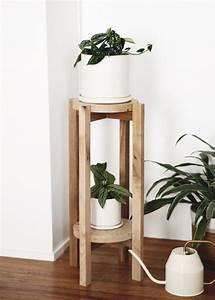 Diy, Wood, Plant, Stand