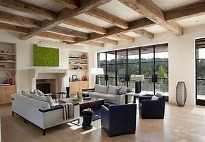 Deco Salon Contemporain : d co salon style contemporain exemples d 39 am nagements ~ Melissatoandfro.com Idées de Décoration