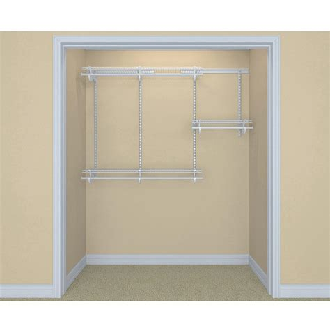 Closetmaid Shelf System by Wire Closet Organizer System Kit Storage Organization