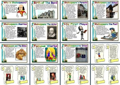 literacy resource william shakespeare biography