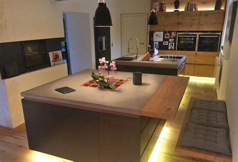 Küchenzeile Mit Bar by K 252 Che 2 Bl 246 Cke Mit Bar Herzinger Greive Design