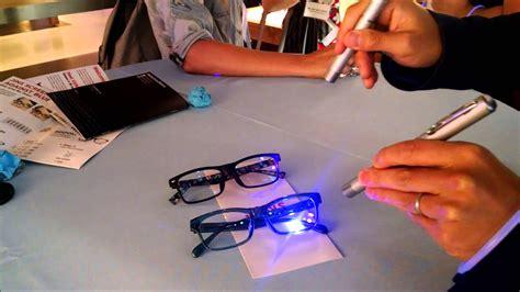 glasses that filter out blue light jins screen blue light blocking glasses youtube