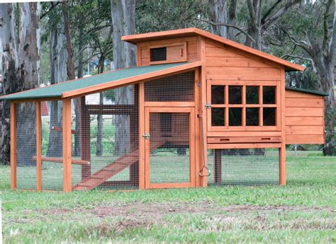 chicken coop large chook shed hen house g109 ebay