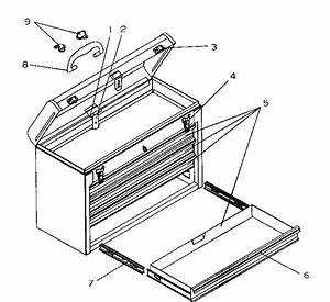 Craftsman 706957390 Tool Chest Parts