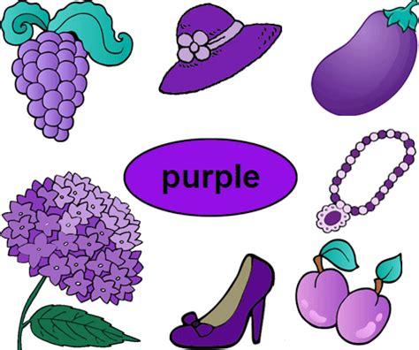 color purple worksheets  kindergarten  images