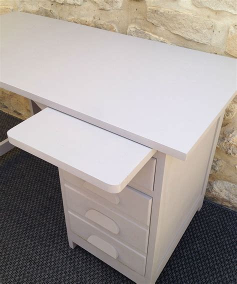 table cuisine escamotable tiroir cool ancien bureau comptable repeint gris avec tiroirs et
