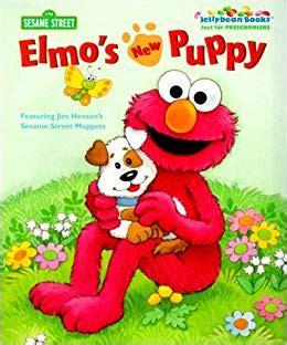 Elmo's New Puppy (jellybean Books(r)) Catherine Samuel