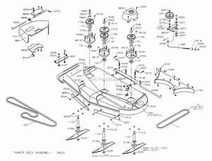 Dixon Ztr 5023  2000  Parts Diagram For Mower Deck 50 U0026quot