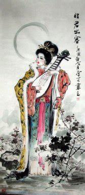 chinese painting wang zhaojun chinese painting cnag artisoocom