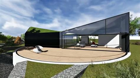 green livingroom d haus company unveils stunning home design with rotating