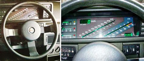 Digital Dashboard Cars by Blast From The Past Digital Car Dashboards From The 80s