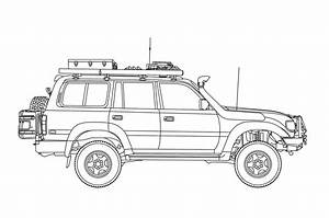 Diagram 1994 Toyota Land Cruiser Engine