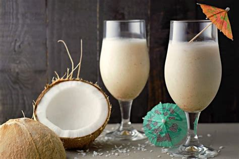 best pina colada best pina colada recipe for two drinks zona cooks