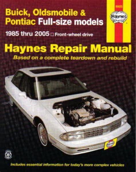 what is the best auto repair manual 1985 ford bronco ii free book repair manuals haynes buick oldsmobile and pontiac full size fwd 1985 2005 auto repair manual