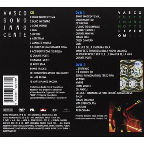 Sono Innocente Vasco Sono Innocente Vasco Modena Park Edition Vinile
