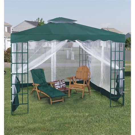 mosquito net gazebo pagoda gazebo with mosquito netting green 100938