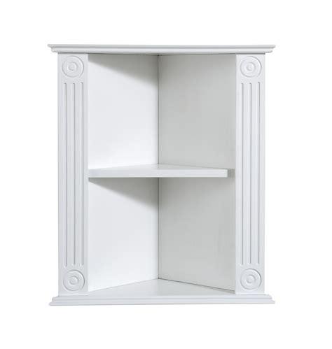 corner wall shelf white interior design ideas