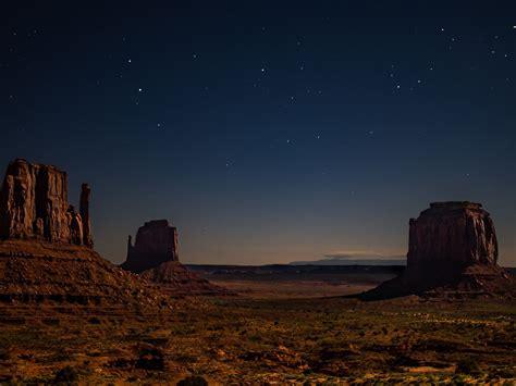 desert starry night hd  wallpaper