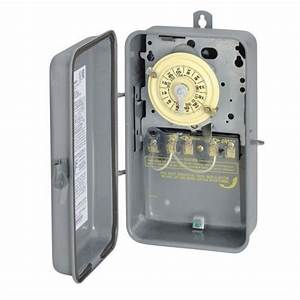 Intermatic outdoor light lighting pool timer time