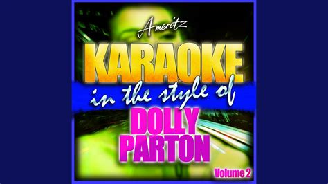 wildflowers   style  dolly parton karaoke