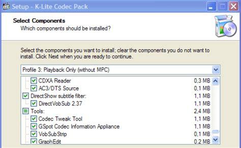 The codec tweak tool fixed all my codec problems. Klite Codecs Pack Windows 10 : Klite Mega Codec Pack Windows 10 - Download K-Lite Codec ...