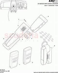 Aston Martin Dbs V12 Transmitter Assembly  Rke Parts