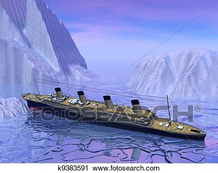 Titanic Boat Vector by Clipart Of Titanic Boat Sinking K9383591 Search Clip Art